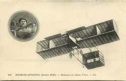 BOURGES AVIATION Octobre 1910 Bielovucie Sur Biplan Voisin - Reuniones