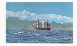 BOUNTY SAILING NEAR TAHITI - Voiliers
