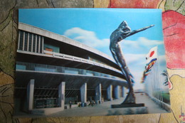 Tokyo National Stadium Olympics 1964 Stereo Japan  / Stade. Old Postcard - Stadi