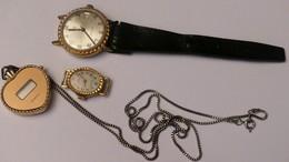 Lots De 3 Montres - Watches: Old