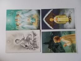 Lot 4 Vintage, Romantiek, Amitiès, Liefde, Amour, Begin 1900, Folklore, Wensen, Bloemen,  JOYEUX NOËL./ KERST.... # 13 - Otros