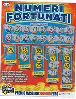 GRATTA E VINCI   - NUMERI FORTUNATI Codice AA NUMERO 24   DA € 3.00 - USATO (SERIE 1) - Biglietti Della Lotteria