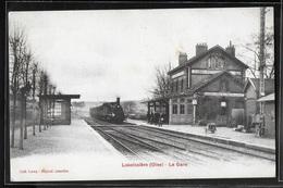 CPA 60 - Laboissière, La Gare - France