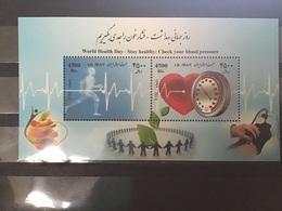 Iran - Postfris/MNH - Sheet Wereld Gezondheidsdag 2013 - Iran