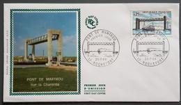 FDC 1968 - YT N°1564 - PONT DE MARTROU - ROCHEFORT - FDC