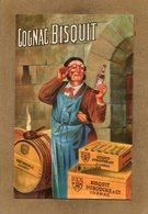 CPA - COGNAC - JARNAC (16) - Pub Sur Le Cognac Bisquit , Dessin D'illustrateur Du Début Du Siècle - Cognac