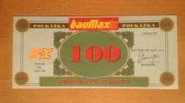 Czechoslovakia Slovakia 100 Korun Baumax  UNC - Tchécoslovaquie
