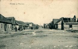RACIONS Rue Dans Racions...?  Est-ce Un Ancien Village De Pologne ? Carte Postée De PUETUSK - Pologne