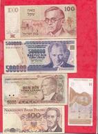 Pays Du Monde 20 Billets Dans L 'état Lot N °4 (PETIT PRIX DE DEPART A SAISIR ) - Monnaies & Billets