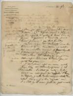 Lettre à En-tete De La Grande Société Des Chemins De Fer Russes . Saint-Pétersbourg 1861 . Médecine . A. Develuy . - Vieux Papiers