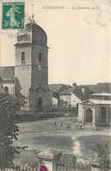CPA 70 HAUTE SAONE Semmadon La Fontaine Et L'Eglise 1908 Un Peu Abimée En Haut à Droite Tache Encre Rouge Recto 1908 - France