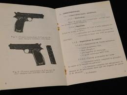 MANUEL PISTOLET AUTOMATIQUE MAC Modéle 1950 Daté 1975 ...... - Decorative Weapons