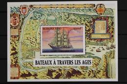 Burkina Faso, Schiffe, MiNr. Block 189, Postfrisch / MNH - Burkina Faso (1984-...)