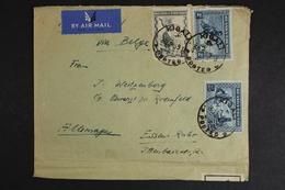 Ruanda-Urundi, Bedarfsbeleg Nach Deutschland, Zollverschluß, 1939 - Timbres