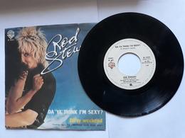 Rod Stewart  -  1978.  Wea Records - Da Ya Think I'm Sexy? - Rock