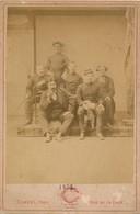 I47 - N° 59 - MILITARIA - Groupe De Soldats Français - Mention Manuscrite 1872 - Old (before 1900)