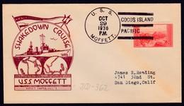 "US Navy, USS""MOFFETT"" (DD-362)1936,"" COCOS ISLAND "", LOW PRICE !! Look Scan !! 6.7-03 - Barcos"