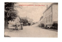 CPA 51 - Maisons En Champagne - Rue Du Hans ( Entrée ) - France