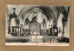 CPA - VOUGECOURT (70) - Aspect De L'intérieur De L'Eglise Au Début Du Siècle - Autres Communes