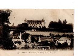 8712. - Château De Moncontour, Près Vouvray (I.-et-L.) - A. B. A Circulé En 1929. En Très Bon état. - Vouvray