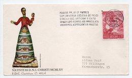 - FDC CITTA DEL VATICAN Pour VILLINGEN (Allemagne) 25.12.1965 - - FDC