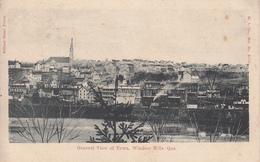 Vintage 1907 - Windsor Mills Québec - General View - Stamp & Postmark - VG Condition - 2 Scans - Massé & Frères - Quebec