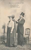 CPA -France - Thèmes - Couples - Les Commandements Du Mari - Couples