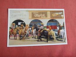 Beer Sign Mylsa Beer  Charro Costumes Tijuana  Mexico  Ref 3152 - Mexico