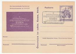 Essen 1978 Stamp Exhibition Illustrated Postal Stationery Postcard Postkarte B190201 - Ganzsachen