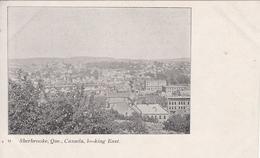 Vintage 1905-1910 - Sherbrooke Québec Canada - Looking East - Dos Simple Back - Unused - 2 Scans - Sherbrooke