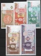 B 81 - MONGOLIE Lot De 5 Billets De 1 5 10 20 Et 50 Tugrik De 2000 états Neufs - Mongolie