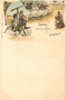 Algérie - Gendarmerie Algérienne - Spahis - Illustrateur Gabriel PINXIT  N° 1013 - Hommes