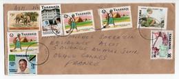 - Lettre TANZANIE Pour CANNES (France) - Bel Affranchissement Philatélique - - Tanzanie (1964-...)