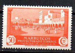 Sello Nº 142  Marruecos - Marruecos Español