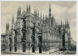 MILANO   IL     DUOMO        (VIAGGIATA) - Milano (Milan)