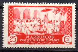 Sello Nº 139  Marruecos - Marruecos Español