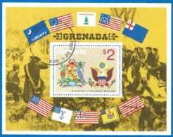 Grenada 1975 Year, Used Block - Grenada (1974-...)