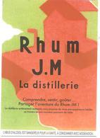 CPM MARTINIQUE HABITATION RHUM J. M. DISTILLERIE MACOUBA ROUTE GRAND RIVIERE - Martinique