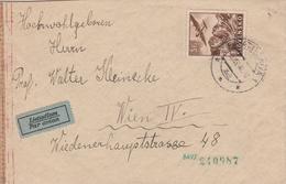 Slovaquie Lettre Censurée Pour L'Autriche 1944 - Slovaquie