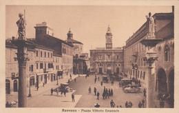CARTOLINA - POSTCARD - RAVENNA - PIAZZA VITTORIO EMANUELE - Ravenna