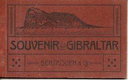 Gibraltar. Carnet De 12 Cartes - Gibraltar
