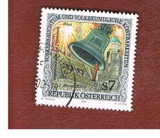 """AUSTRIA -  SG  2547  - 1999   FOLKLORE: BELL """"PUMMERIN""""    -  USED° - 1945-.... 2a Repubblica"""