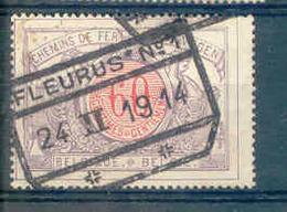 K578 -België Spoorweg Chemin De Fer Stempel FLEURUS N° 1 - Chemins De Fer