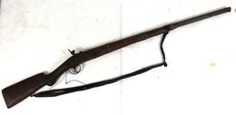 Fusil Traditionnel à Amorce Haute-Volta - Première Moitié Du XX ème Siècle - Armas De Colección