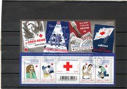 FRANCE    Feuillet De 4 Timbres 0,58 €     2010   Y&T: F4520   Croix Rouge   Oblitérés - Full Sheets