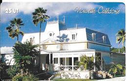 CARTE-PUCE-NOUVELLE-CALEDONIE-25U-GEM A Fond Rouge-NC117-MANGROVE-70000Ex-UTILISE-TBE - New Caledonia