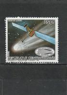 Centrafrique Oblitéré 1985   N° 717   Espace. Passage De La Comète De Halley. Sonde De La NASA - Centrafricaine (République)