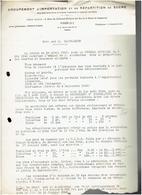 NOTE SUR LA SACCHARINE 1940 REGLEMENTATION TAXE RATIONNEMENT AU JOURNAL OFFICIEL SUCRE WWII - France