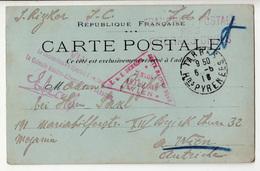 France WWI POW Postcard La Colonie Austro-Allemande De Garaison 1916 B190201 - Wars