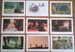 Lot De 9 Cartes Postales /  Métiers & Paysans Photo Anne & Erik LAPIED - Illustrateurs & Photographes